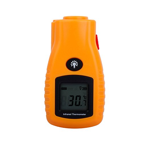 Liqoo® Infrarot Thermometer Laser Pyrometer -32 bis 280 °C -26~536 °F