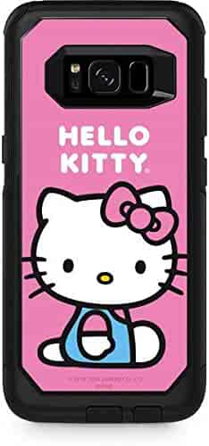 12ab1c73c Skinit Hello Kitty Sitting Pink OtterBox Commuter Galaxy S8 Plus Skin -  Officially Licensed Sanrio Skin