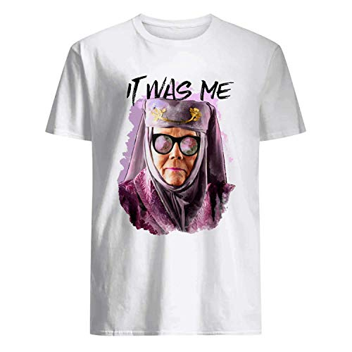 USA 80s TEE It was Me Shirt White]()