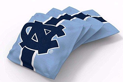 PROLINE 6x6 NCAA College North Carolina Tar Heels Cornhole Bean Bags - Stripe Design (B)