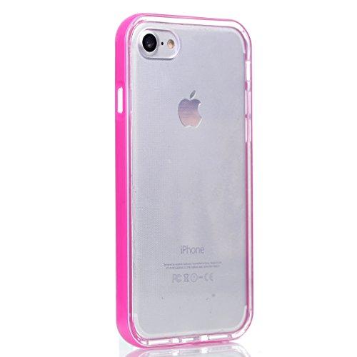iPhone 7 Hülle Case, Cozy Hut Anti-Fingerprint 2 in 1 abnehmbare Hybrid Schutzhülle [Thin Fit][Anti-Scratch] Passgenaues [weiß] Premium Hart-PC Schale / Schlanke Handyhülle / Schutzhülle für iPhone 7