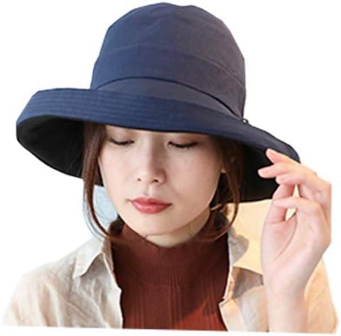 [ドリームハッツ]帽子 レディース 夏 uv 折りたたみ UVカット帽子 100% 大きいサイズ 頭 大きい 大きめ つば広 リバーシブル 春夏 たためる帽子 日焼け防止 Lサイズ XL おしゃれ 母の日 運動会