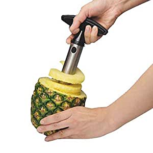Stainless Steel Pineapple Easy Slicer Craft Fruit Cutter and Corer