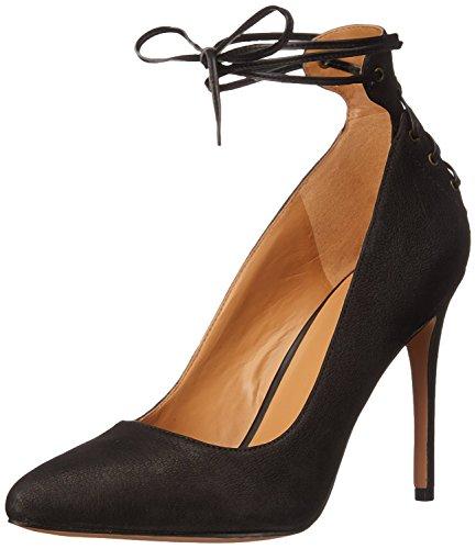 Nine West Women's Ebba Leather Dress Pump, Dark Brown/Dark Brown Leather, 40 B(M) EU/7.5 B(M) UK