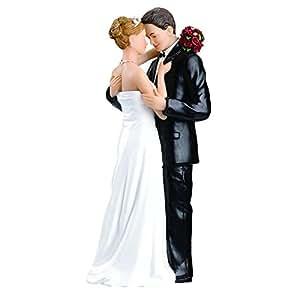 Tender Embrace Wedding Cake Topper