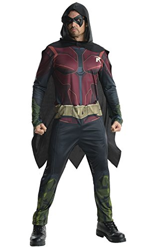 [Rubie's Costume Men's Batman Arkham City Adult Robin, Multicolor, Small] (Robin From Arkham City Costumes)
