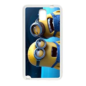 SANYISAN Cute Minions White Samsung Galaxy Note3 case
