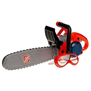 Amazon.com: The Home Depot Deluxe Power Toy Chainsaw: Toys ...