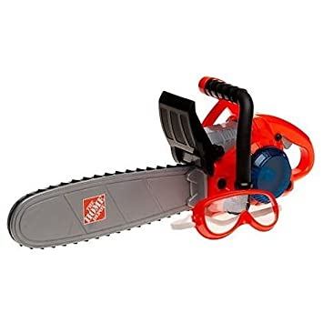 The Home Depot Deluxe Power Toy Chainsaw Amazon Co Uk Toys