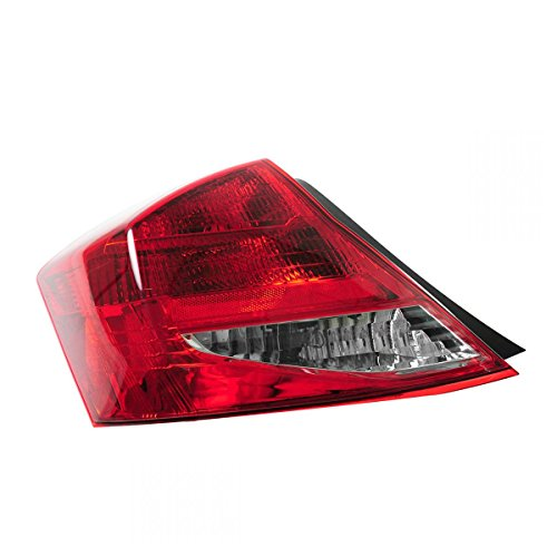 Tail Light Lamp Assembly LH Left Driver Side for 11-12 Honda Accord 2 Door Coupe Honda Accord 2 Door Tail
