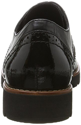 Jana Damen 23702 Oxfords Schwarz (Black)