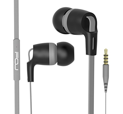 Price comparison product image FOU Earbuds Earphones Headphones With Microphone Wired HIFI Stereo Bass In-ear Headphones Headsets With Inline Remote Control for iOS/ Android