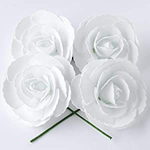 Quasimoon PaperLanternStore.com 3D Premade Foam Flower Backdrop Wall Décor 35