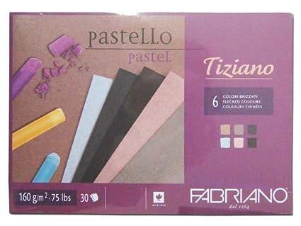 Fabriano Carta per pastelli blocchi, Cotone, multicolore, 21 x 29,7 x 0,5 cm 46221297