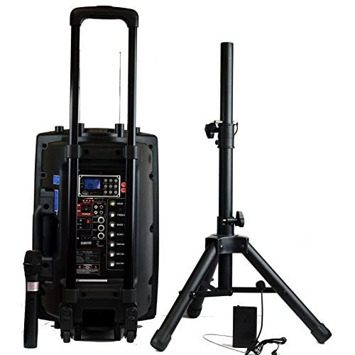 Wireless Microphone System Portable : portable pa system with wireless mic ~ Russianpoet.info Haus und Dekorationen