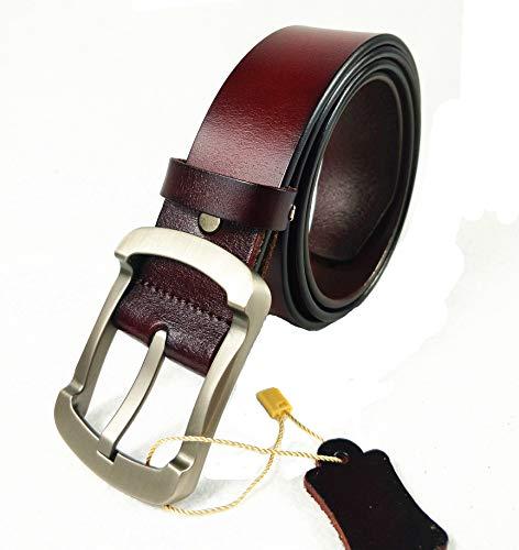 - Myfeel Men's Dress Belt Leather,Genuine Pure Cowhide Reversible 1.5