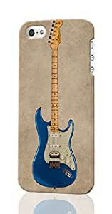 Fender Stratocaster Custom Diy Unique Image Durable 3D Case Iphone 4 4S Hard Case Cover