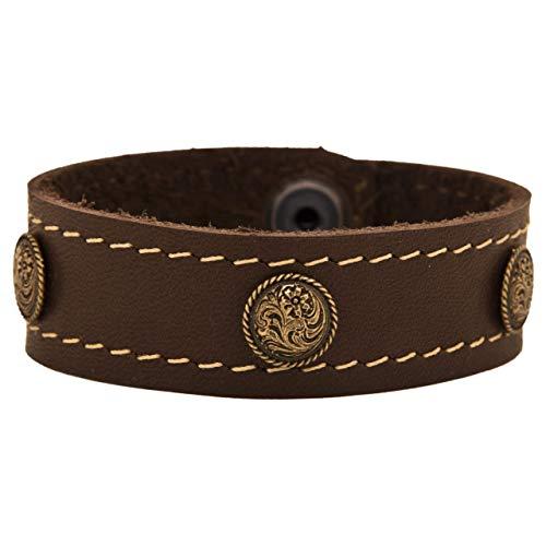 (Spot Rose Copper Cuff Bracelet )