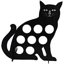 Marketing Holders Pet Cat Black 8 K Cup Dispenser Coffee Keurig pod holder