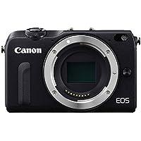 Canon EOS M2 Mark II 18.0 MP Digital Camera (Black) Body...