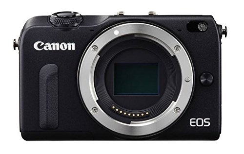 Canon EOS M2 Mark II 18.0 MP Digital Camera (Black) Body Only - International Version (No Warranty)