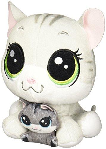 Littlest Pet Shop Tabsy Felino and Holiday Felino Plush Pairs ()