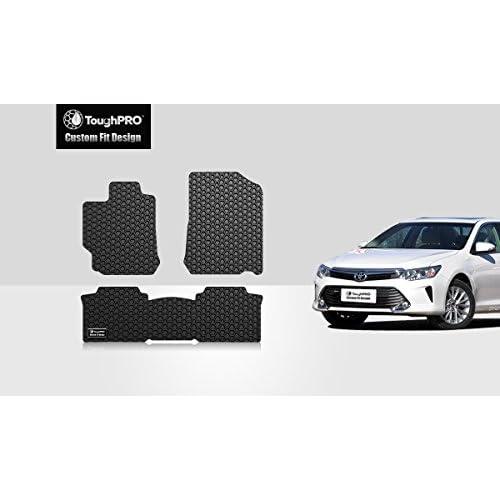 45a5fb8e577 ToughPRO Toyota Camry Floor Mats 3-pc set - All Weather - Heavy Duty ...