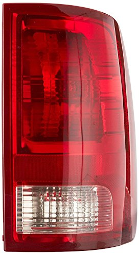 Dodge Ram Tail Lights Lamps (Dependable Direct Right Passenger Side Tail Light Lens & Housing for 2009-2017 Dodge Ram 1500 and 2010-2017 RAM 2500, 3500 CH2819124)