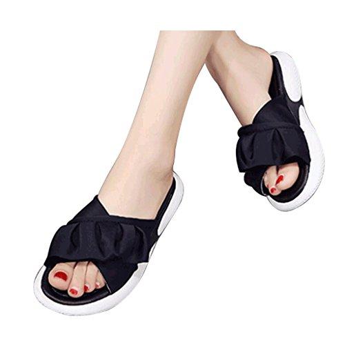 Chaussons Taille de Chaussures Sport 7 de antidérapantes d'été 0 Plage Décontracté de Dames Pantoufles Durable TT4B7pnqx