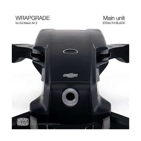 WRAPGRADE Main Unit Skin Compatibile con Mavic Air 2 (Stealth Black) 5 spesavip