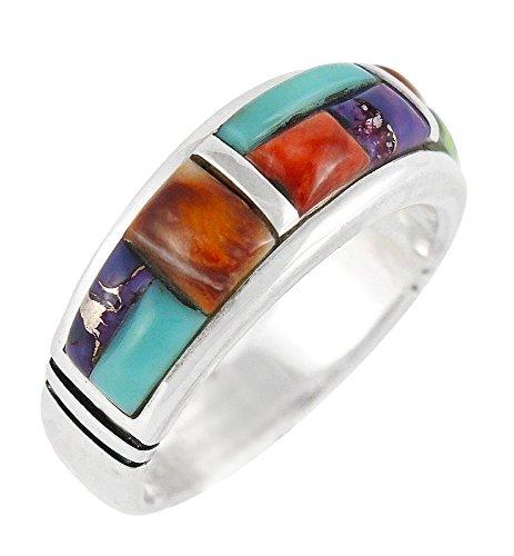 Genuine Stone Ring - 6