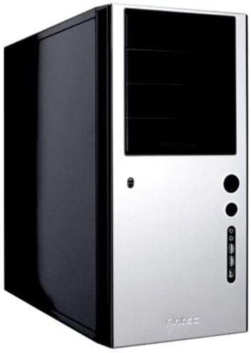 Antec Solo ATX Quiet Mini Tower - Caja de Ordenador con Fuente de alimentación (3 x 13,2 cm, 5 x 8,9 cm, 2 USB 2.0, FireWire, Audio I/O), Color Plateado: Amazon.es: Informática