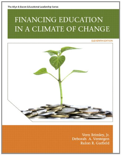 Financing Education in a Climate of Change (11th Edition)
