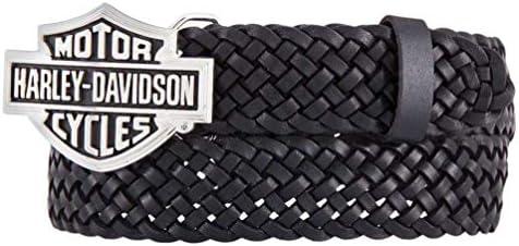 [해외]Harley-Davidson Women`s Stagecoach Genuine Leather Black Belt HDWBT11535-BLK / Harley-Davidson Women`s Stagecoach Genuine Leather Black Belt HDWBT11535-BLK