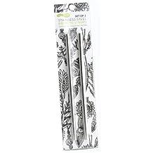 U Konserve Stainless Steel Straws, 2-Pack