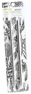 U Konserve UK036 2-Pack Stainless Steel Straws