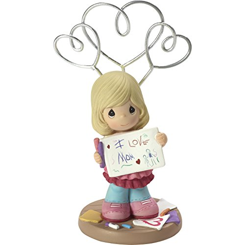 - Precious Moments I Love Mom Girl Resin Photo & Picture Holder Stand Home Decor Collectible Figurine 173421