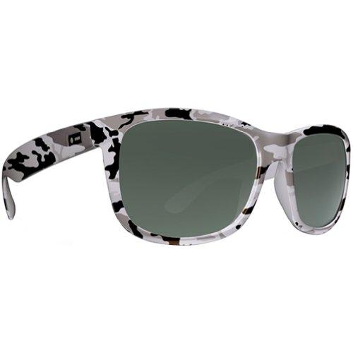Dot Dash Poseur Wayfarer Sunglasses,Snow Camo,54 - Camo Sunglasses Snow