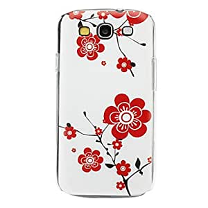 TOPQQ ships in 48 hours Wintersweet Pattern Hard Case for Samsung Galaxy S3 I9300