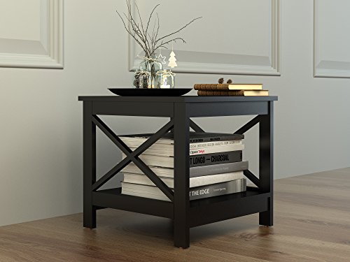 black end table - 8