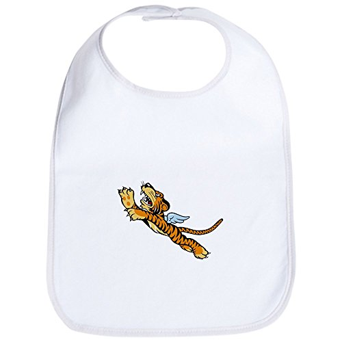 CafePress The Flying Tigers Bib Cute Cloth Baby Bib, Toddler Bib ()