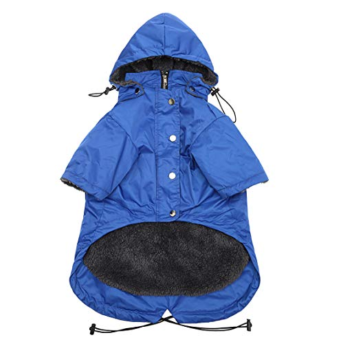 Geyecete Stylish Premium Dog Coats – Cold Weather Dog Jacke -Coat Sweater Hoodie Outwear Apparel, Pockets, Rain/Water…