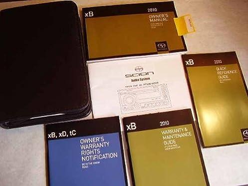2010 scion xb owners manual scion amazon com books rh amazon com 2010 Scion XD Interior 2010 Scion XD Interior