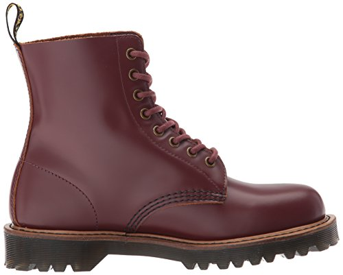 winter Cascade 21 PASCAL Oxblood Split White 611 FL 100 hole Dr Martens boots 8 White fqzUUC
