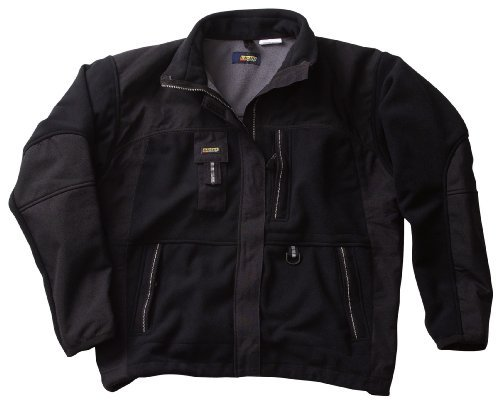 Blaklader 4855 Two Fisted Fleece Jacket Small Black