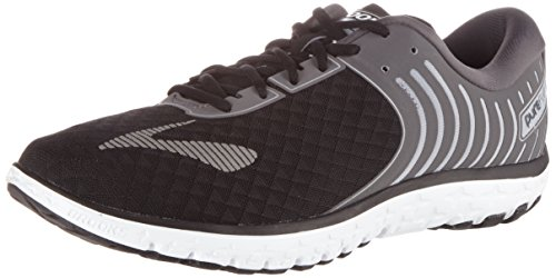 Brooks Mens Pureflow 6 Nero / Antracite / Argento