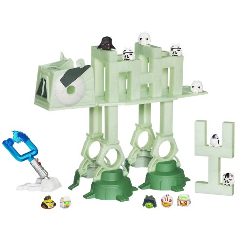 Angry Birds Star Wars AT-AT Attack Battle Game -