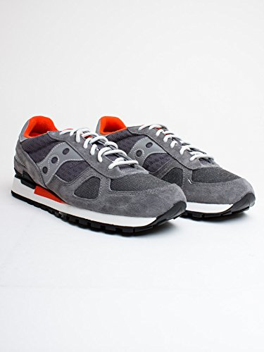 GREY Saucony Shadow Original Uomo Sneaker ORANGE wOvqCY