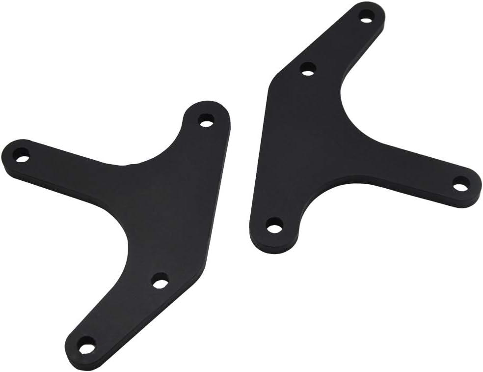 XJMOTO 1.5 Inch Rear Suspension Lift Leveling Bracket Kit Compatible with 2009-2020 Harley Davidson Tri-Glide FLHTCUTG//Street Glide Trike FLHXXX