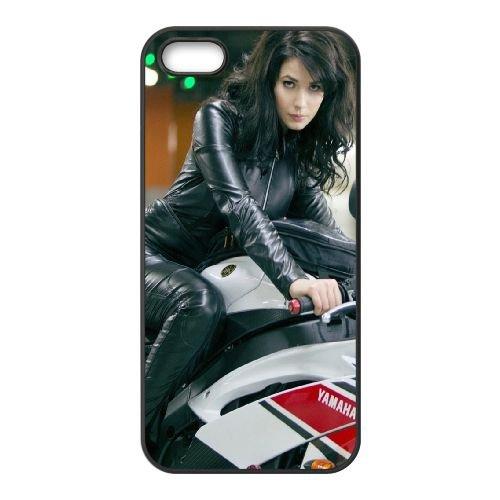 Brunettes coque iPhone 4 4S cellulaire cas coque de téléphone cas téléphone cellulaire noir couvercle EEEXLKNBC23927